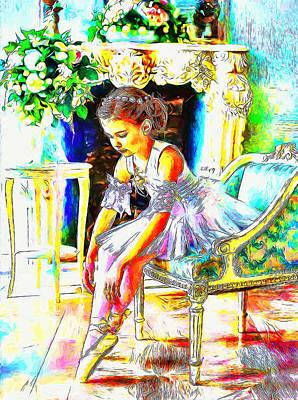 Keith Richards - Little ballerina by Nenad Vasic