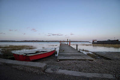 Royalty-Free and Rights-Managed Images - Little red boat by Martin Newman