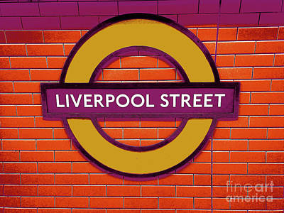All You Need Is Love - Liverpool street by Romano Segna