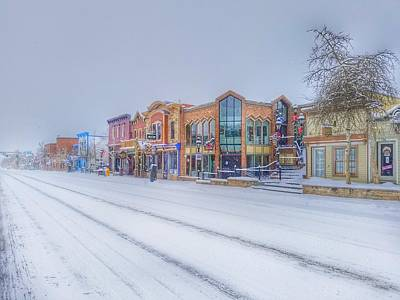 When Life Gives You Lemons - Main Street Breckenridge Colorado  by Fiona Kennard