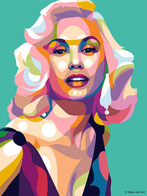 Royalty-Free and Rights-Managed Images - Mamie Van Doren 2 by Stars on Art