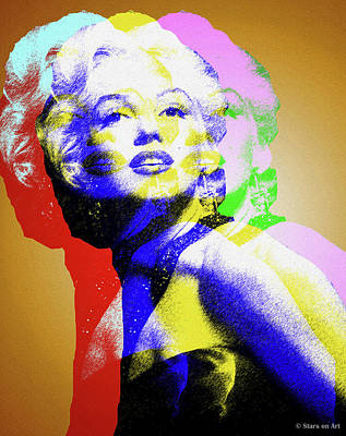 Juan Bosco Forest Animals Royalty Free Images - Marilyn Monroe Royalty-Free Image by Stars on Art