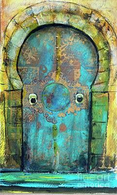 Painting - Maroccan door  by Gita Vasa