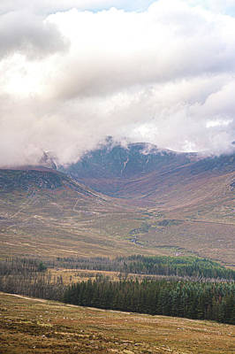 Photograph - Misty Valley in the Mourne Mountains by Darren Forde