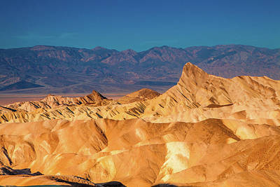 Royalty-Free and Rights-Managed Images - Morning at Zabriskie Point by Andrew Soundarajan