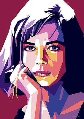 Digital Art Royalty Free Images - Natalie Wood Royalty-Free Image by Stars on Art