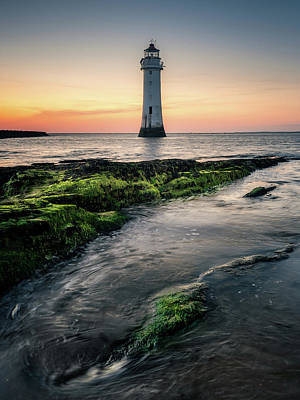 Photograph - New Brighton Lighthouse by Andrew George Photography