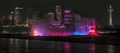 Photograph - Niagara Falls by Chris DeLaat