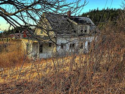 Photograph - Old Home by David Matthews
