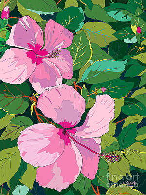 Royalty-Free and Rights-Managed Images - Pink Hibiscus by John Clark