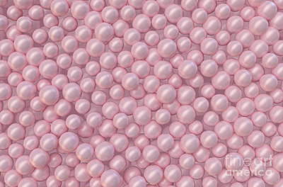 Royalty-Free and Rights-Managed Images - Pink Pearl Background by Allan Swart