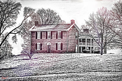Cartoons Tees - Plantation Home by Scott Polley