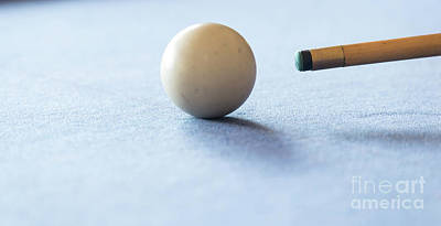 Photograph - Pool Table by Tim Hester