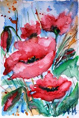 Keith Richards - Poppies by Vesna Martinjak