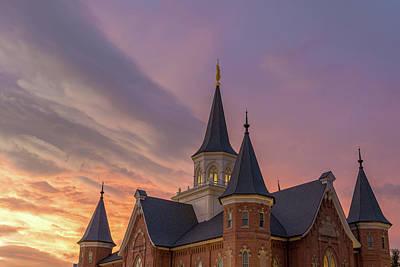 Photograph - Provo City Center Temple by Dallas Golden