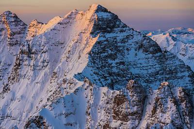 Photograph - Pyramid Peak by Tamara Susa
