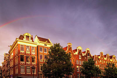 Royalty-Free and Rights-Managed Images - Rainbow over Amsterdam by Andrew Soundarajan