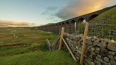 David Bowie - Ribblehead Viaduct Carnforth by Paul Madden