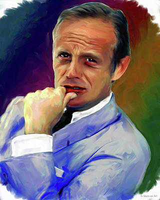 Gambling Royalty Free Images - Richard Widmark Royalty-Free Image by Stars on Art