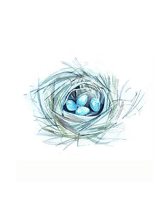 Landscape Photos Chad Dutson - Robins Nest by Luisa Millicent