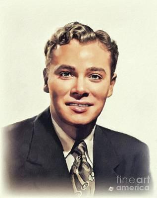 Safari - Ross Hunter, Vintage Actor by John Springfield