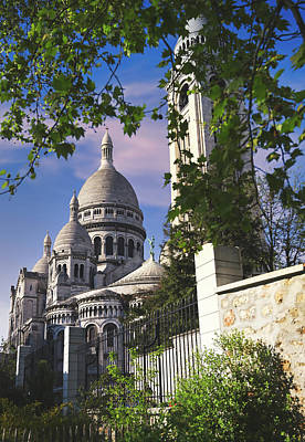 Firefighter Patents - Sacre-Coeur Basilica, located in the Montmartre district of Paris, France by James Byard