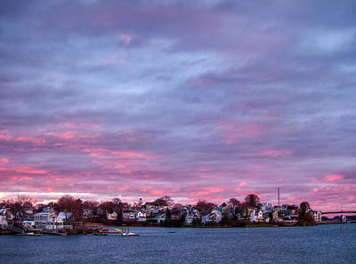 American West - Salters Point and Goat Hill at Sunset by Scott Hufford