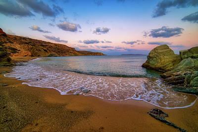 Photograph - Sandy beach by Manolis Tsantakis