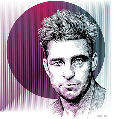 Modern Man Air Travel - Scott Speedman by Greg Joens