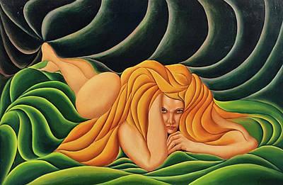 Painting - Seduction In Swirls by John Entrekin
