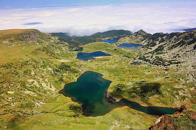 Open Impressionism California Desert - Seven Rila Lakes Rila National Park Bulgaria  by Ivan Pendjakov