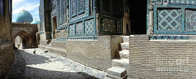The Beach House - Shah-I-Zinda Necropolis, architectural details, before renovatio by The Harrington Collection