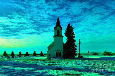 David Bowie - Small country church  by Jeff Swan