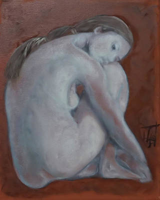 Painting - Solitary Dreams by Linda Falorio