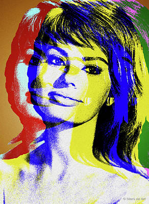 Royalty-Free and Rights-Managed Images - Sophia Loren by Stars on Art