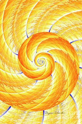 Digital Art - Spiral by Dagmar Schneider