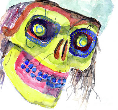 Painting - Spooky No. 3 by Claudia Hafner