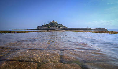 Royalty-Free and Rights-Managed Images - St Michaels Mount Cornwall by Martin Newman