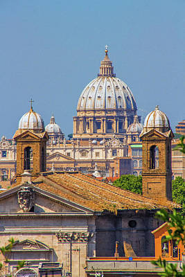 Valentines Day - St Peters Basilica by David Pringle