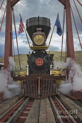 Everett Collection - Steam Locomotive 2 by Mitch Shindelbower