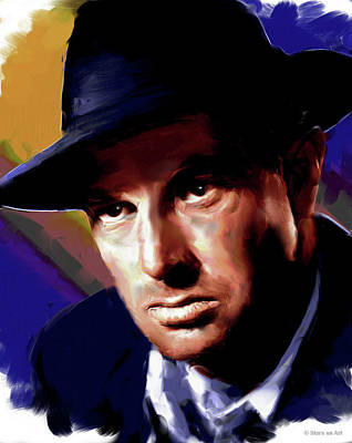 Pop Art Rights Managed Images - Sterling Hayden Royalty-Free Image by Stars on Art
