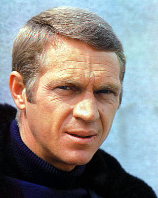 Royalty-Free and Rights-Managed Images - Steve McQueen by Stars on Art