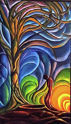 Painting - Strayed Path by John Entrekin