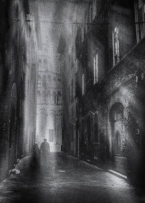 Photograph - Street photography Lucca by Frank Andree