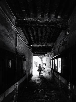 Photograph - Street photography Lucca / Tuscany by Frank Andree