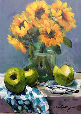 Recently Sold - Susan Elizabeth Jones Royalty-Free and Rights-Managed Images - Sunflowers by Susan Elizabeth Jones
