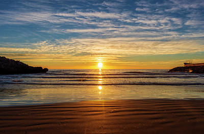 The Rolling Stones Royalty Free Images - Sunrise from the Retor cove, Oropesa Royalty-Free Image by Vicen Photography
