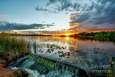 On Trend Breakfast - Sunset at Spillway by David Arment