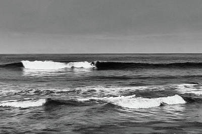 Photograph - Surfer by Wade Brooks