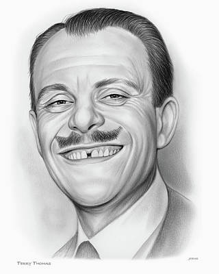 Drawings Rights Managed Images - Terry Thomas Royalty-Free Image by Greg Joens